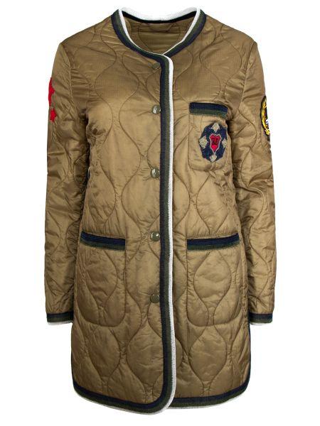 Стеганая куртка с карманами Ermanno Scervino