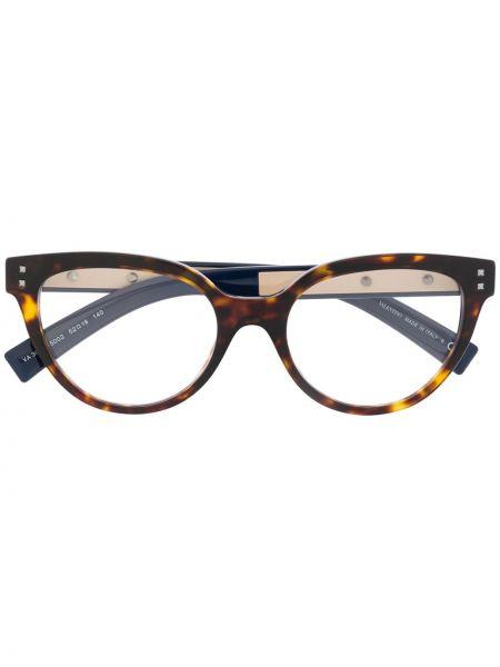 Oprawka do okularów srebrne - brązowe Valentino Eyewear