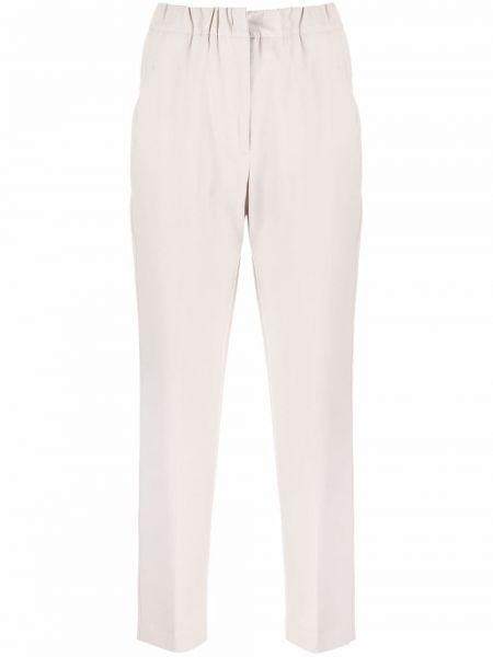 Белые хлопковые брюки Seventy