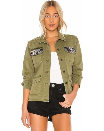 Ватная армейская куртка с карманами Pam & Gela
