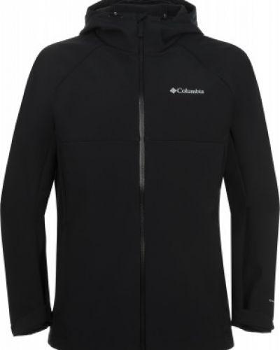 Черная куртка на молнии с капюшоном Columbia