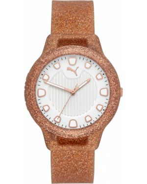 Zegarek brązowy Puma