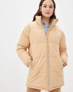 Оранжевая утепленная куртка Sela
