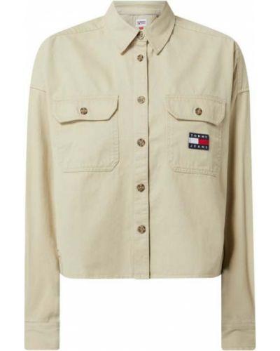 Bawełna bawełna kurtka jeansowa z kołnierzem Tommy Jeans