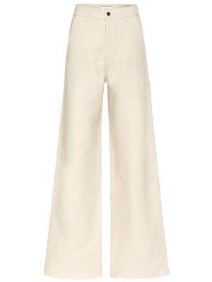 Расклешенные джинсы свободные mom Ami