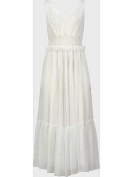 Платье из полиэстера - белое Vicolo