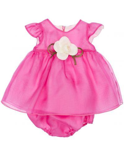 Шелковое платье - розовое La Stupenderia