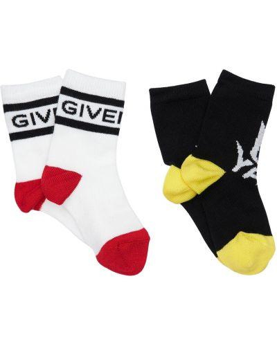Bawełna bawełna skarpetki z mankietami Givenchy
