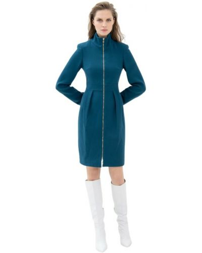 Niebieska sukienka Fracomina