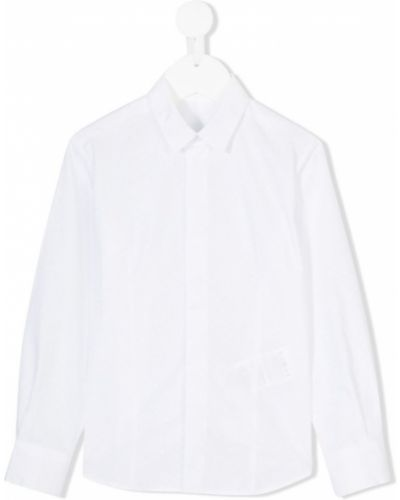 Рубашка белая на пуговицах Tagliatore Junior