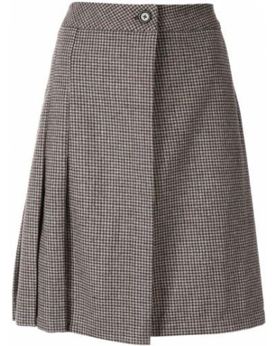 Плиссированная юбка - серая Zambesi