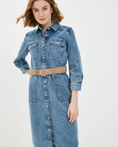 Синее джинсовое платье Ostin