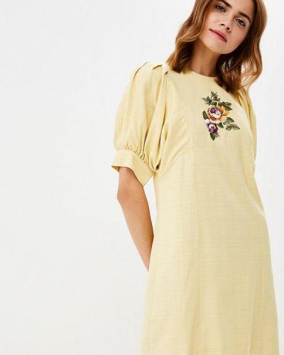 Платье желтый Galina Vasilyeva