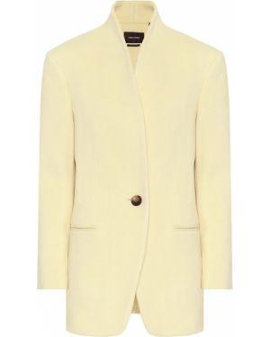 Пиджак шерстяной кашемировый Isabel Marant