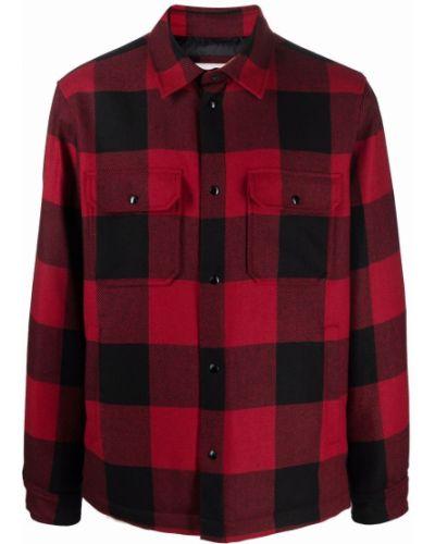 Красная куртка классическая Woolrich