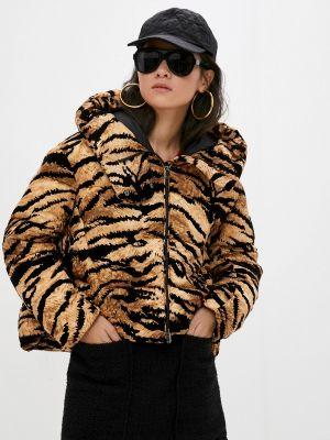 Утепленная куртка - коричневая Pinko