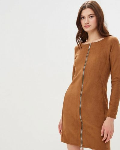 Платье - коричневое Coclo