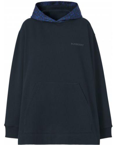 Niebieska bluza bawełniana Burberry