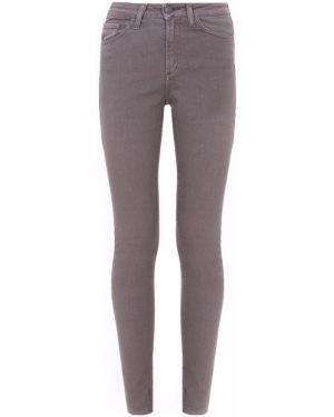 Серые джинсы-скинни с карманами с пайетками на пуговицах Gender Denim