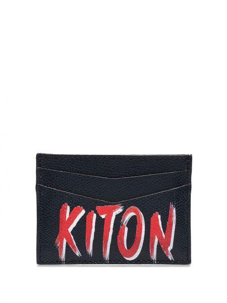 Кошелек синий Kiton