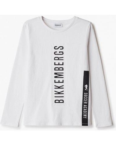 Белый лонгслив Bikkembergs