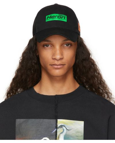 Хлопковая шапка - белая Heron Preston