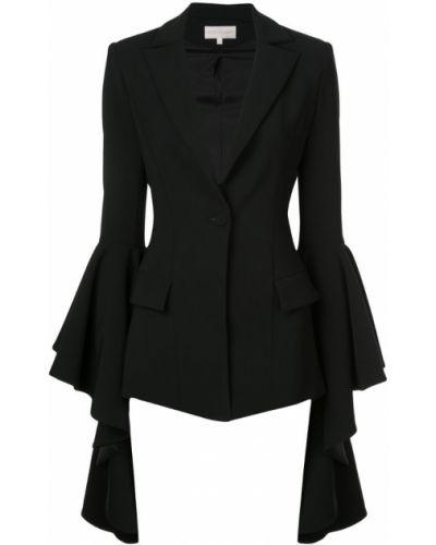 Черная куртка Christian Siriano
