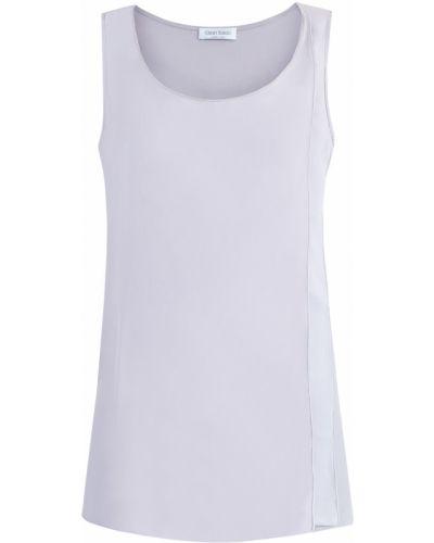 Блузка без рукавов с цепочкой шелковая Gran Sasso