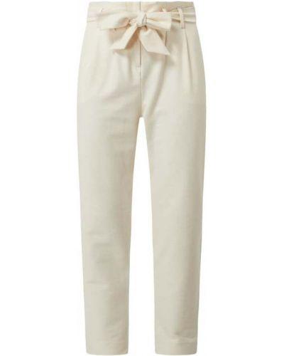 Beżowe spodnie bawełniane Edc By Esprit
