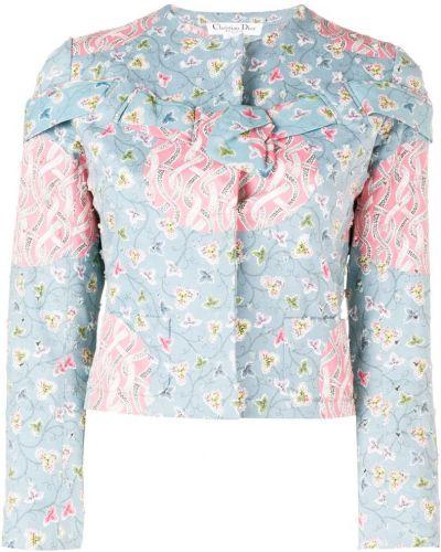 Синяя куртка Christian Dior Pre-owned