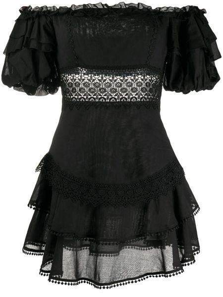 Платье мини из поплина с открытыми плечами Charo Ruiz Ibiza