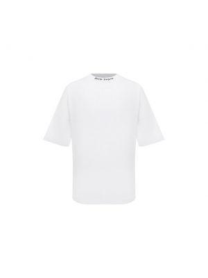 Белая итальянская футболка Palm Angels