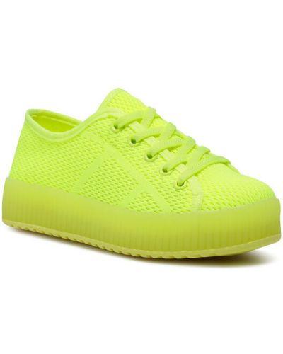 Żółte sneakersy Nelli Blu
