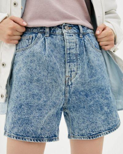Джинсовые шорты - голубые Tiffosi
