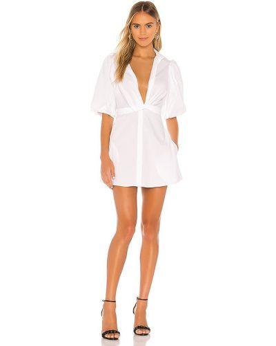 Хлопковое платье - белое Petersyn