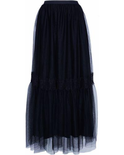 Юбка макси в стиле бохо - черная Akhmadullina Dreams