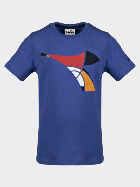 Брендовая футбольная спортивная футболка Diadora
