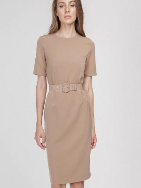 Платье футляр бежевое Raimaxx