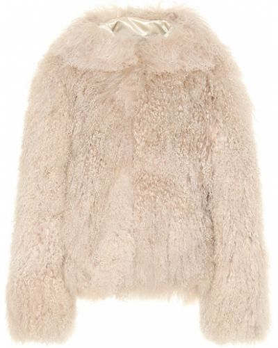 Куртка с капюшоном мятная для полных Alaã¯a