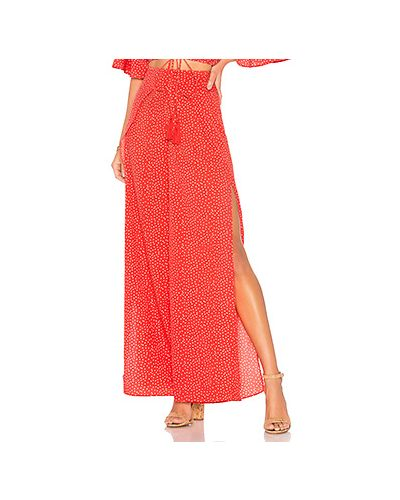 Платье макси с запахом на пуговицах Ale By Alessandra