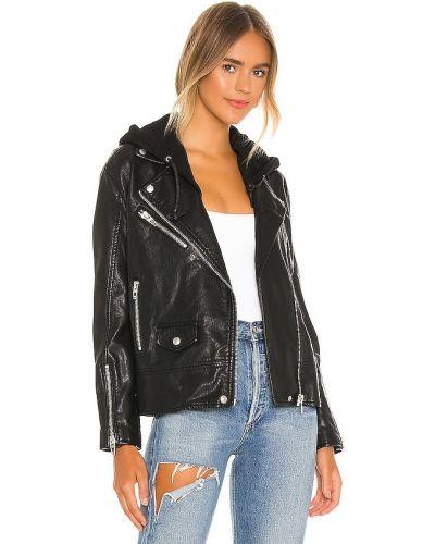 Черная куртка с капюшоном на молнии [blanknyc]