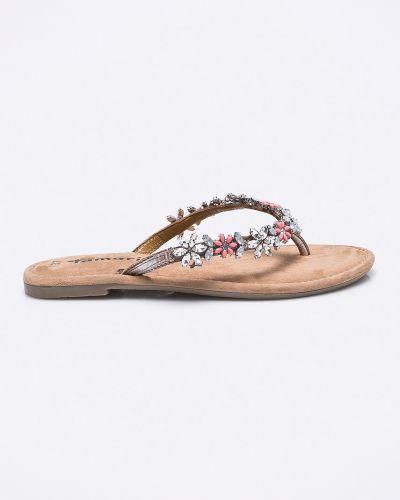 Розовые сандалии кожаный Tamaris