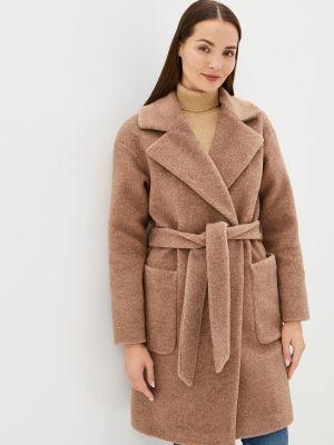 Бежевое демисезонное пальто Vivaldi