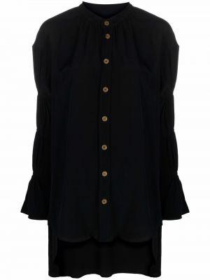 Блузка из вискозы - черная Vivienne Westwood