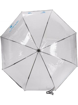 Parasol z printem - biały Off-white