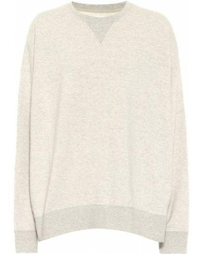 Ватный хлопковый серый свитер Visvim