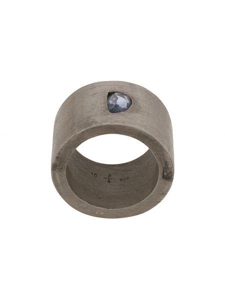 Синее кольцо c сапфиром Parts Of Four