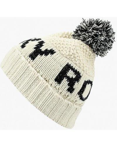 Белая шапка осенняя Roxy