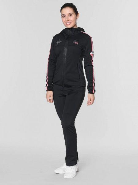 Черный спортивный костюм Snow Headquarter