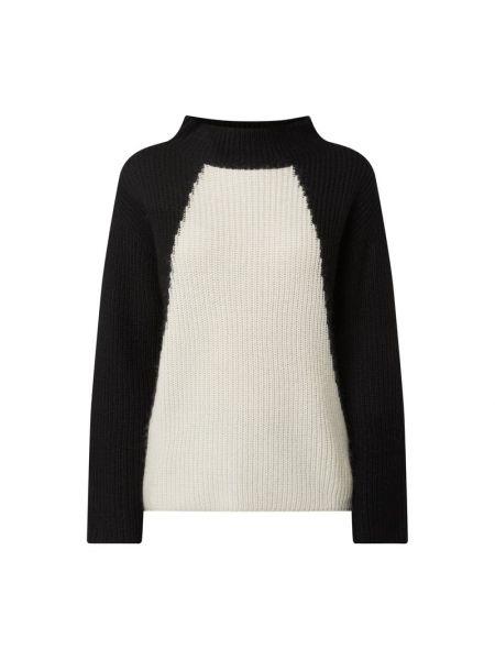 Czarny sweter wełniany Luisa Cerano